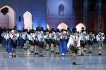 2015 Musikkapelle Ga.-Pa. in Oman Auftritt (3)