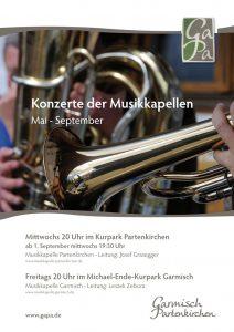 Kurkonzerte der Musikkapellen