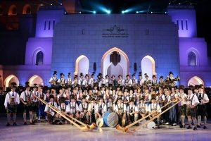 Musikkapellen Ga.-Pa. in Oman