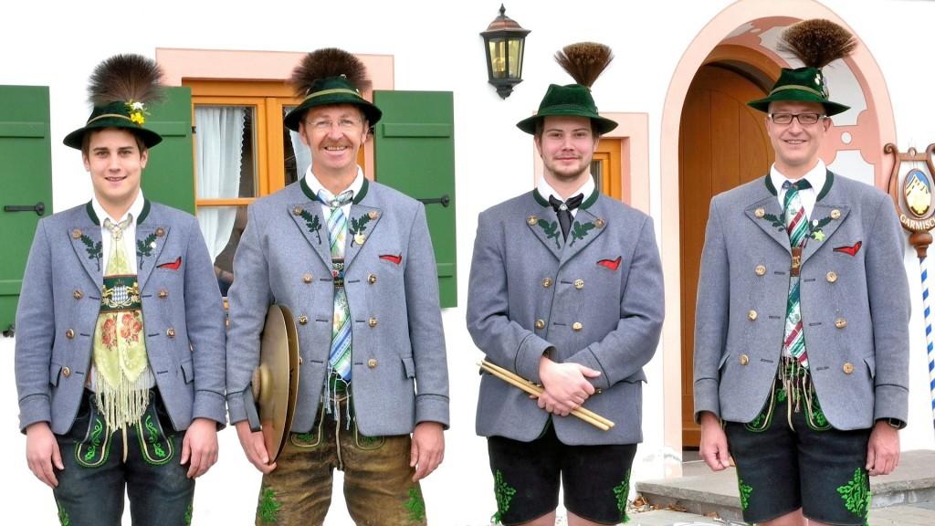 v.l.: Jörgi Schießlbauer jr., Michael Marx, Markus Kollmannsberger jr., Matthias Millian